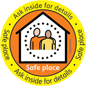 safe place logo transparent