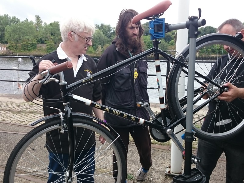 Cycle maintenace